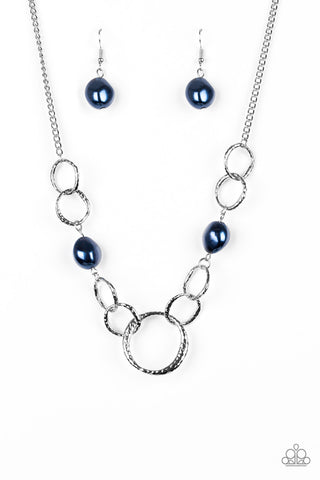 Paparazzi Accessories - Lead Role - Blue Necklace Set - JMJ Jewelry Collection