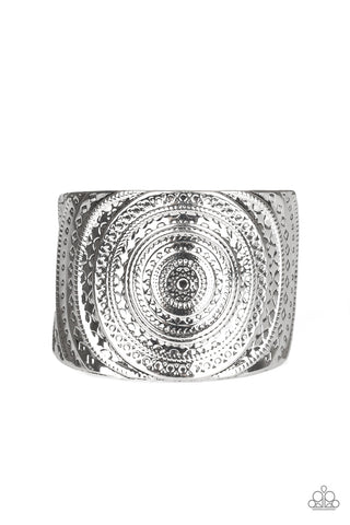 Paparazzi Accessories - Bare Your SOL - Silver Bracelet - JMJ Jewelry Collection