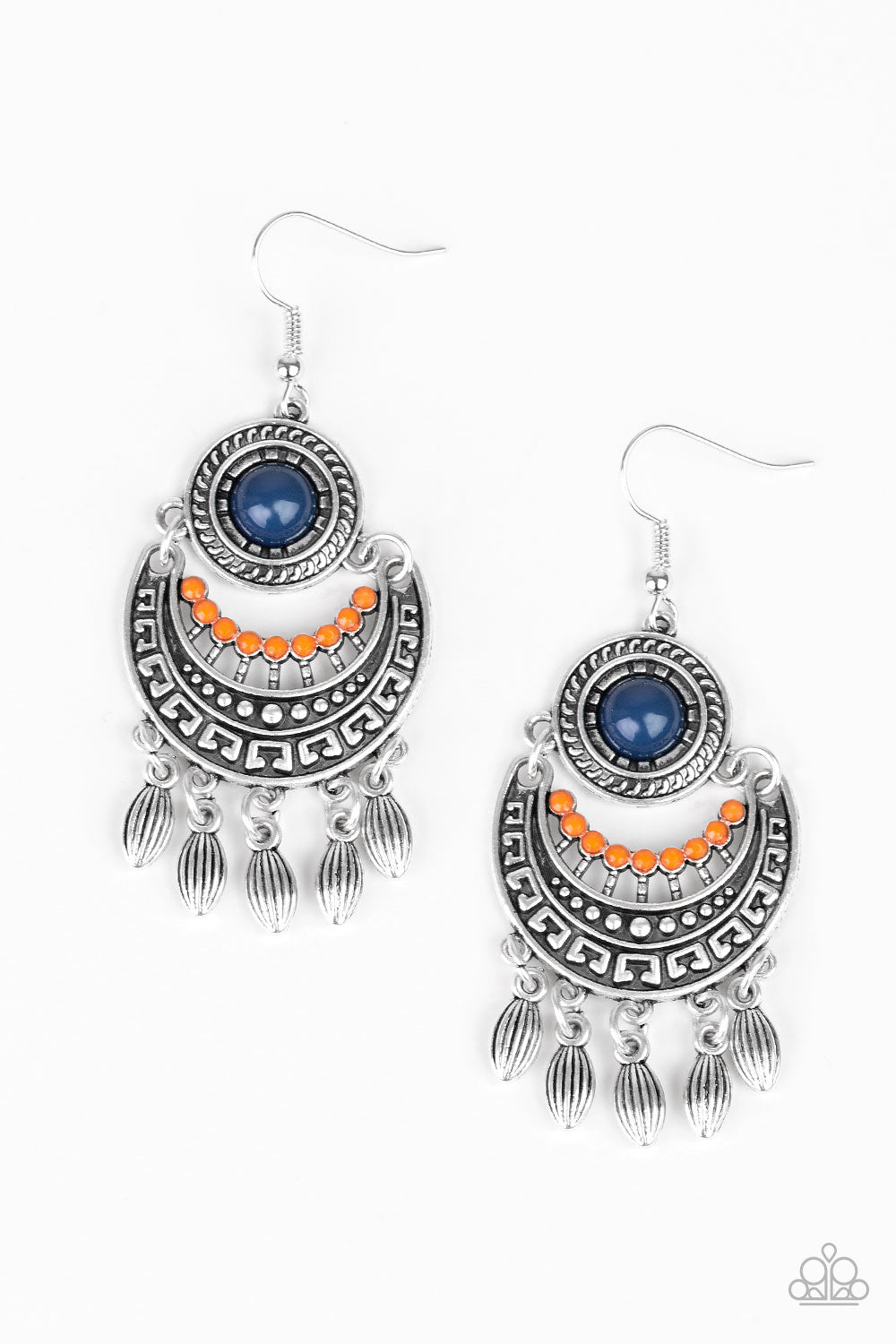 Paparazzi Accessories - Mantra To Mantra - Multicolor Earrings - JMJ Jewelry Collection