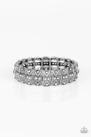 Paparazzi Accessories - Modern Magnificence - Silver Bracelet
