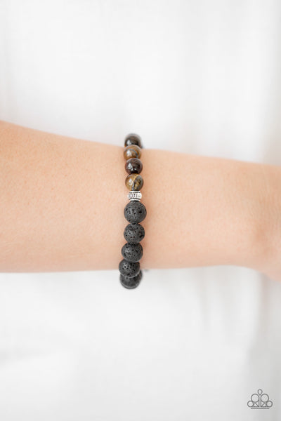 Paparazzi Accessories - Relaxation - Brown Bracelets - JMJ Jewelry Collection
