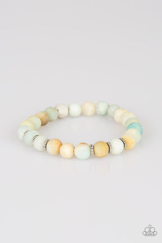 Paparazzi Accessories - Take A Breath - Multicolor Bracelet - JMJ Jewelry Collection