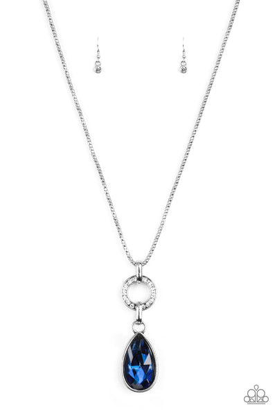 Paparazzi Accessories - Lookin Like A Million - Blue Necklace Set - JMJ Jewelry Collection