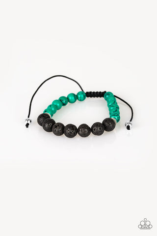 Paparazzi Accessories - Relaxation - Green Bracelets - JMJ Jewelry Collection