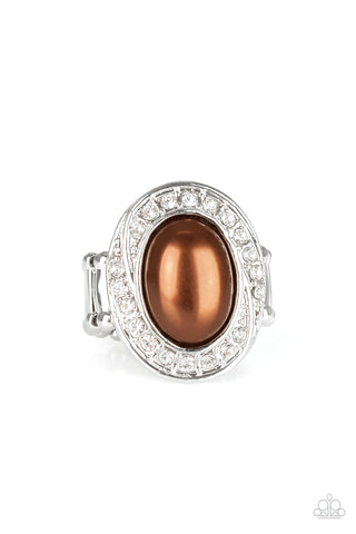 Paparazzi Accessories - The ROYALE Treatment - Brown Ring