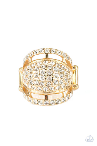 Paparazzi Accessories - The Seven-FIGURE Itch - Gold Ring