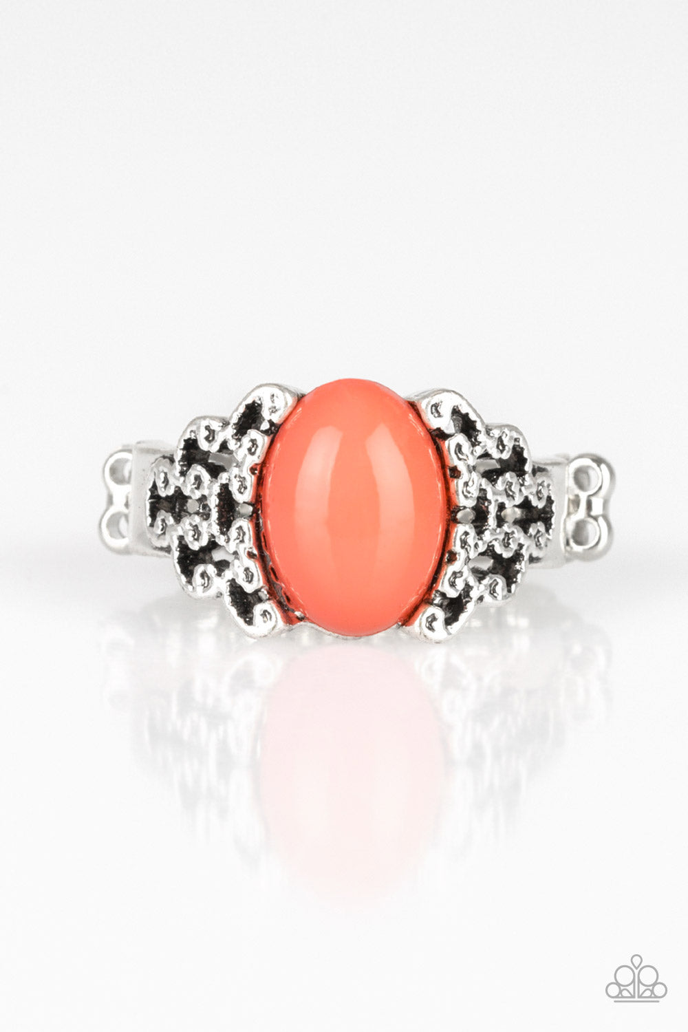 Paparazzi Accessories - Princess Problems - Orange Ring - JMJ Jewelry Collection