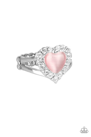 Paparazzi Accessories - Love Is In The Air - Pink Ring - JMJ Jewelry Collection
