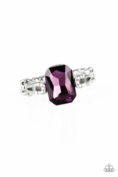 Paparazzi Accessories - Feast Your Eyes - Purple Ring - JMJ Jewelry Collection