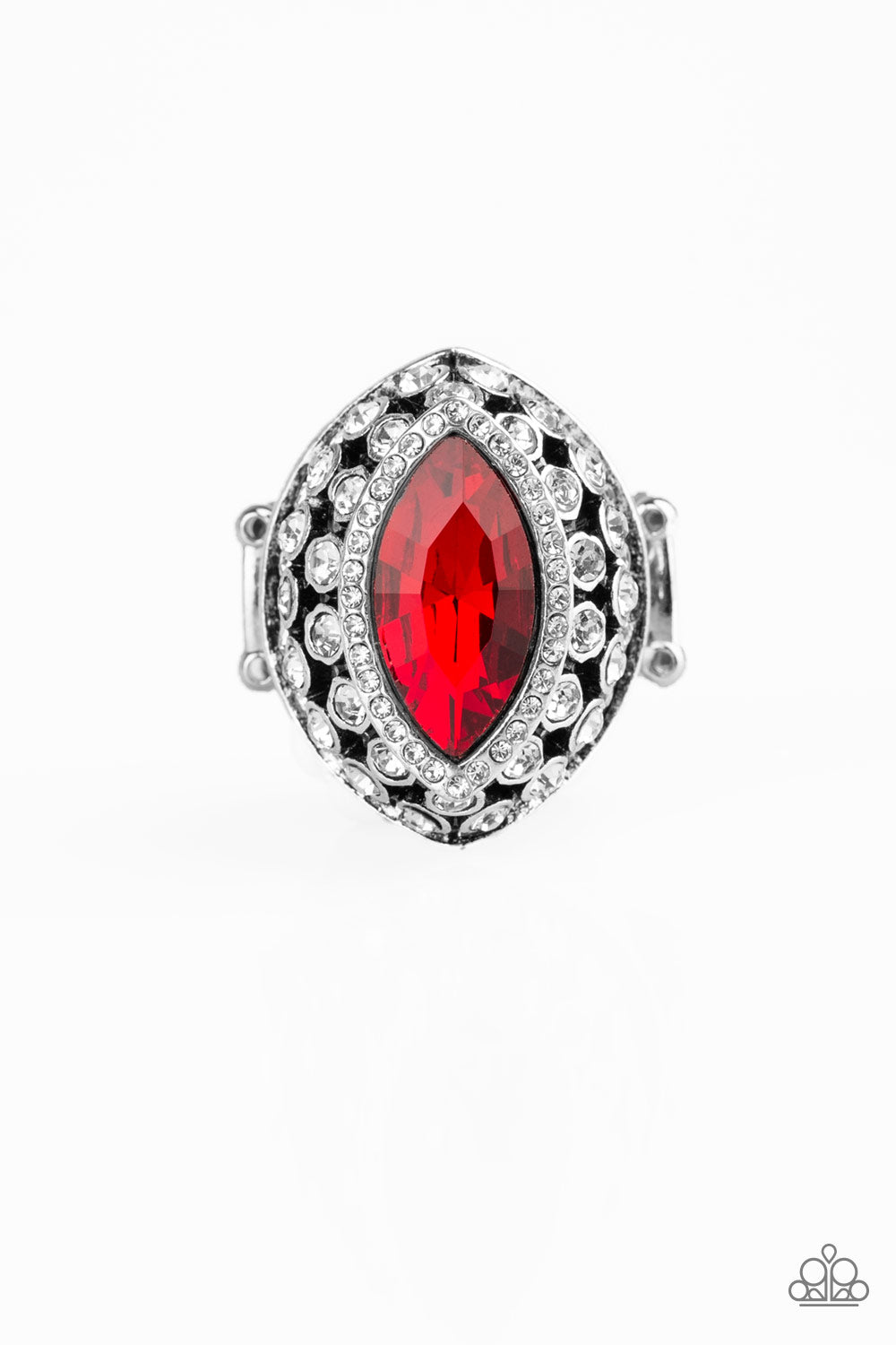 Paparazzi Accessories - Royal Radiance - Red Ring - JMJ Jewelry Collection