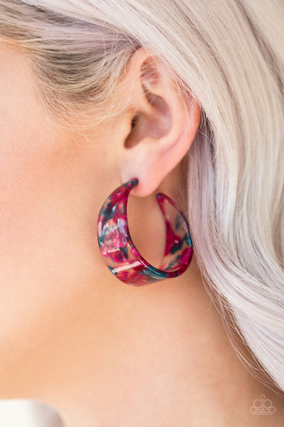 Paparazzi Accessories - Havana Heat Wave - Multi Earrings - JMJ Jewelry Collection