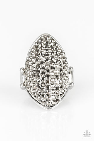 Paparazzi Accessories - Shazam! - Silver Ring - JMJ Jewelry Collection