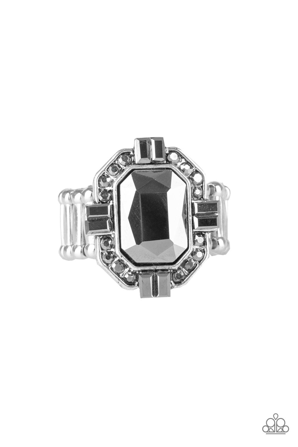 Paparazzi Accessories - Outta My Way! - Silver Ring - JMJ Jewelry Collection
