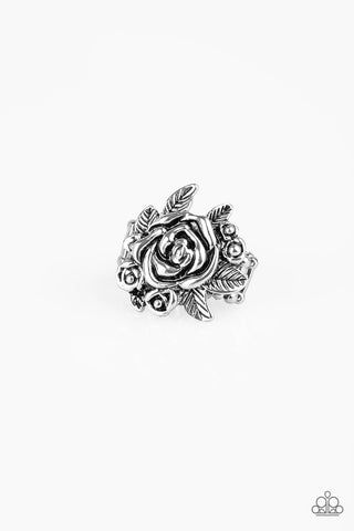 Paparazzi Accessories - Bouquet Bonanza - Silver Ring