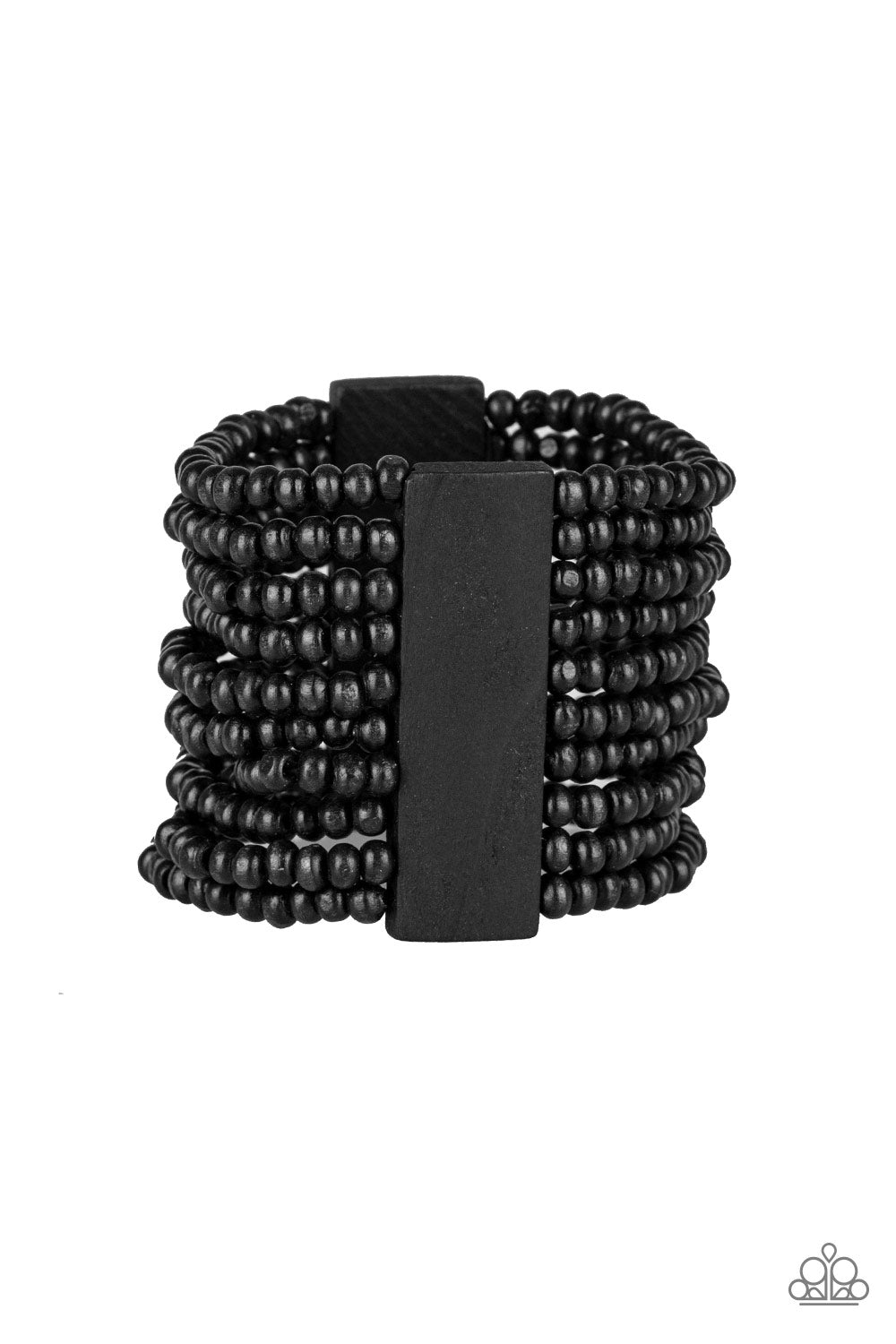 Paparazzi Accessories - JAMAICAN Me Jam - Black Bracelets - JMJ Jewelry Collection