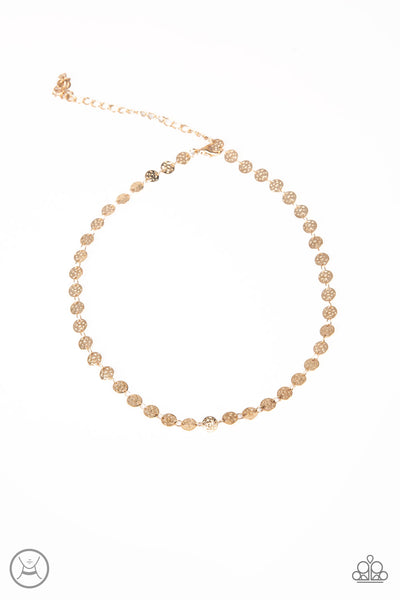 Paparazzi Accessories - Summer Spotlight - Gold Necklace Set - JMJ Jewelry Collection