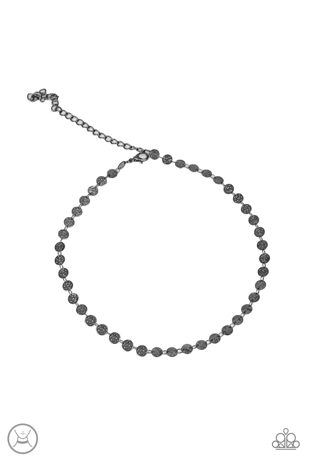 Paparazzi Accessories - Summer Spotlight - Black Necklace Set - JMJ Jewelry Collection