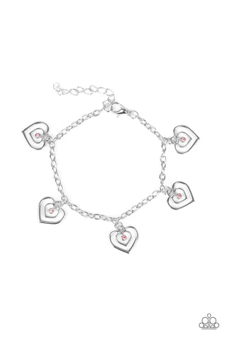 Paparazzi Accessories - Unbreakable Hearts - Pink Bracelets - JMJ Jewelry Collection
