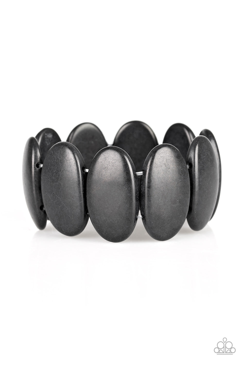 Paparazzi Accessories - Dramatically Nomadic - Black Bracelet - JMJ Jewelry Collection