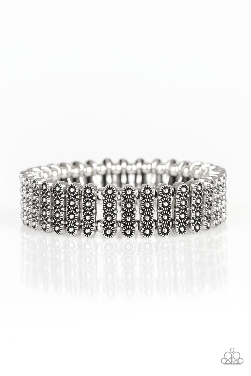 Paparazzi Accessories - Rise With The Sun - Silver Bracelet - JMJ Jewelry Collection