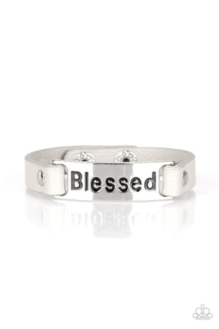 Paparazzi Accessories - Count Your Blessings - Silver Bracelet
