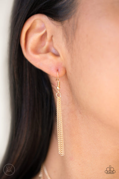 Paparazzi Accessories - Think Like A Minimalist - Gold - JMJ Jewelry Collection