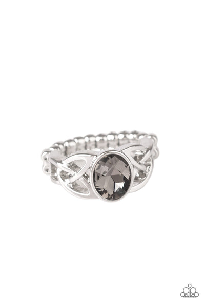 Paparazzi Accessories - Shimmer Splash - Silver Ring - JMJ Jewelry Collection
