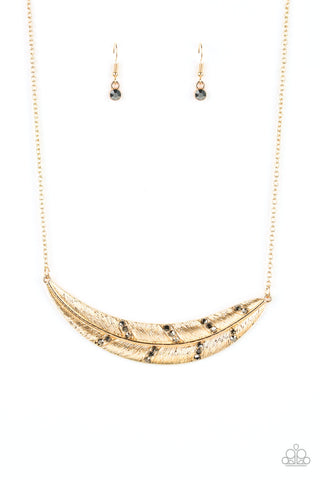 Paparazzi Accessories - Say You QUILL - Multicolor Necklace Set - JMJ Jewelry Collection