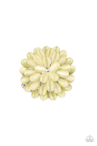 Paparazzi Accessories - Bloomin Bloomer - Yellow Ring