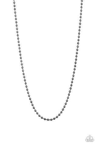 Paparazzi Accessories - Cadet Casual - Black Necklace - JMJ Jewelry Collection