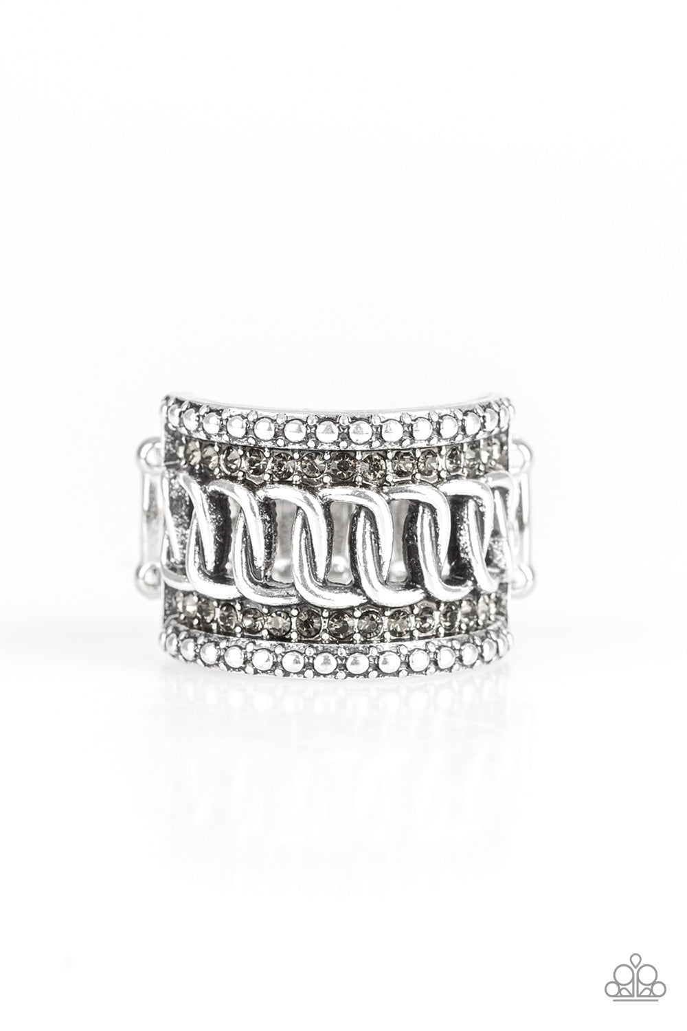 Paparazzi Accessories - Out For The Count - Silver Ring - JMJ Jewelry Collection