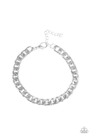 Paparazzi Accessories - Take It To The Bank - Silver Bracelet - JMJ Jewelry Collection