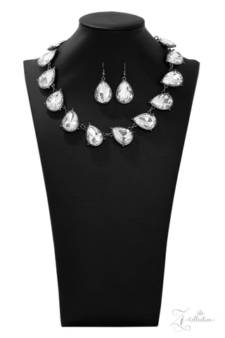 Paparazzi Accessories - Mystique - White Necklace Set