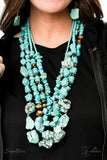 Paparazzi Accessories - The Monica - Z! Collection Necklace Set - JMJ Jewelry Collection