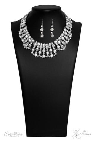 Paparazzi Accessories - The Heather - Z! Collection Necklace Set - JMJ Jewelry Collection