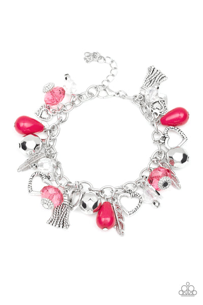 Paparazzi Accessories - Completely Innocent - Pink Bracelet - JMJ Jewelry Collection