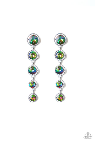 Paparazzi Accessories - Drippin In Starlight - Multicolor Earrings