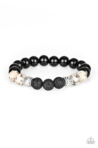 Paparazzi Accessories - Mantra - White Bracelet