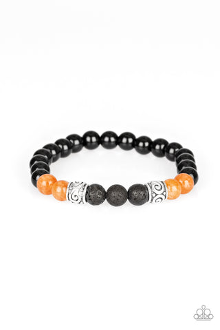 Paparazzi Accessories - Proverb - Orange Bracelet