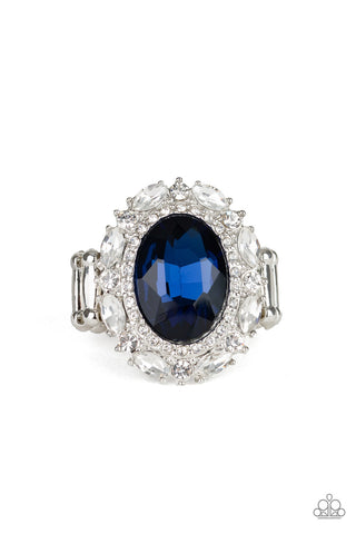 Paparazzi Accessories - Show Glam - Blue Ring