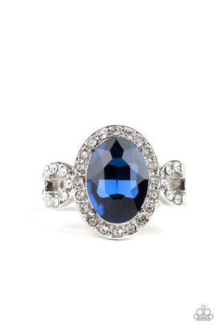 Paparazzi Accessories - Magnificent Majesty - Blue Ring