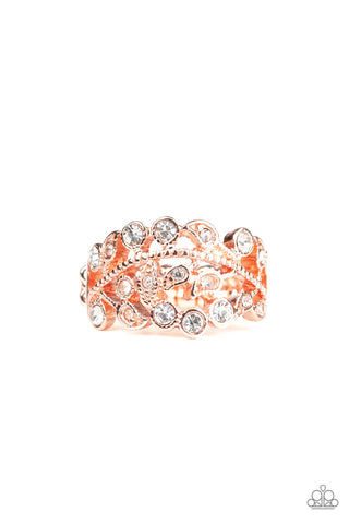 Paparazzi Accessories - Bling Swing - Copper Ring