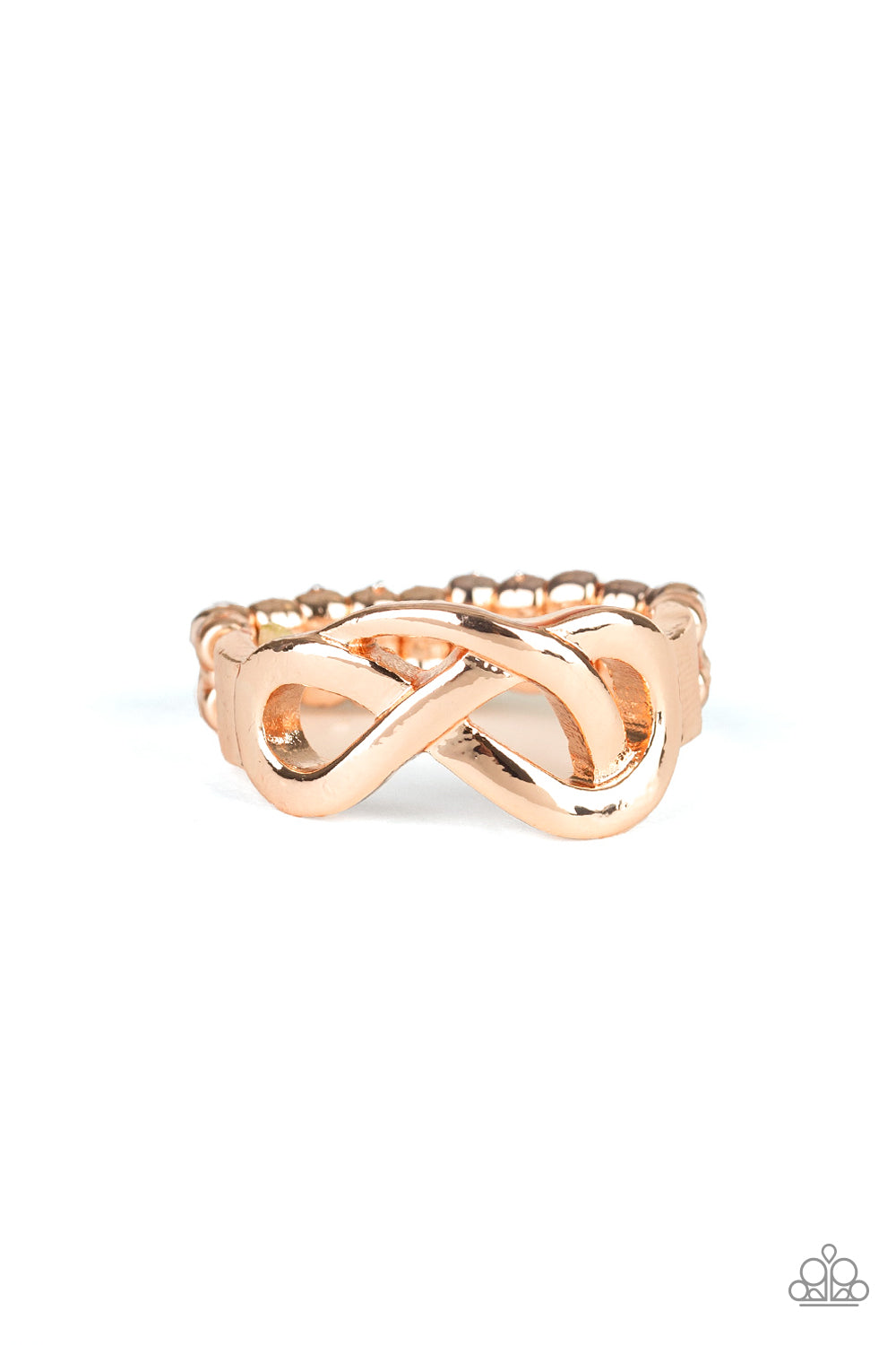 Paparazzi Accessories - Infinitely Industrial - Rose Gold Ring - JMJ Jewelry Collection