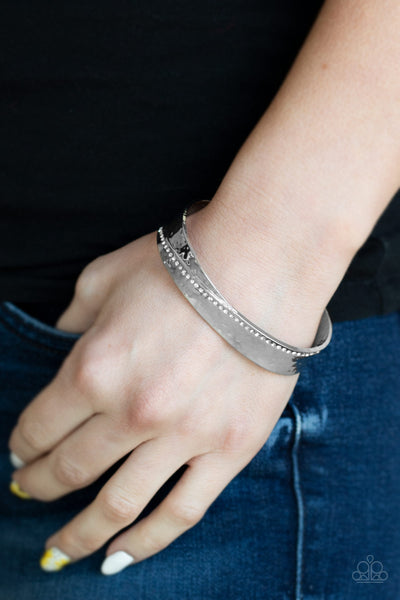 Paparazzi Accessories - Bring The Bling - White Bracelet - JMJ Jewelry Collection