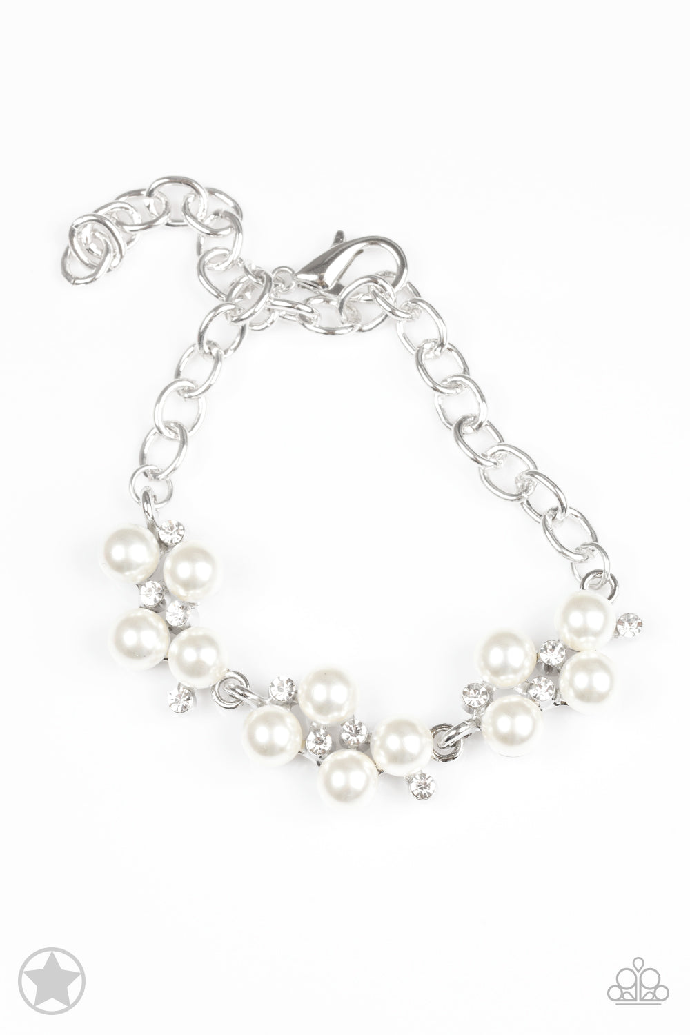 Paparazzi Accessories - I Do - White Bracelet - JMJ Jewelry Collection