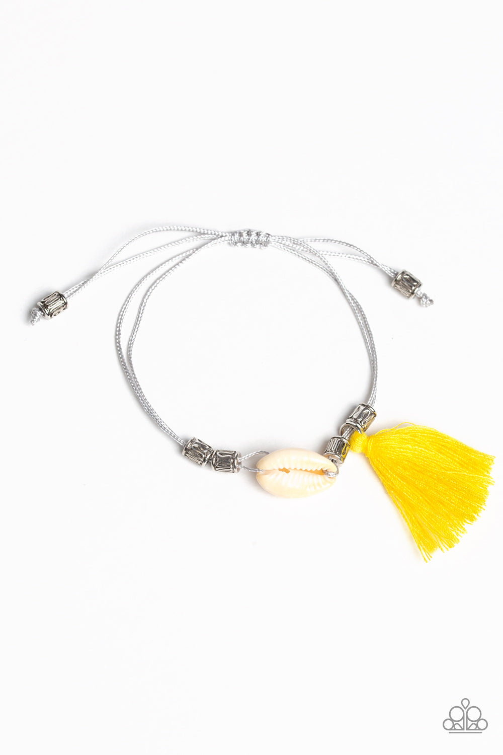Paparazzi Accessories - SEA If I Care - Yellow Bracelet - JMJ Jewelry Collection