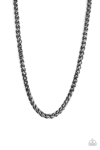 Paparazzi Accessories - Big Talker - Black Necklace