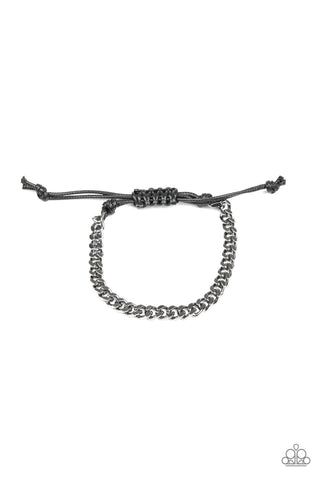 Paparazzi Accessories - Hurrah - Black Bracelet