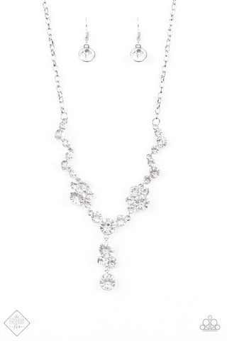 Paparazzi Accessories - Inner Light - White Necklace Set