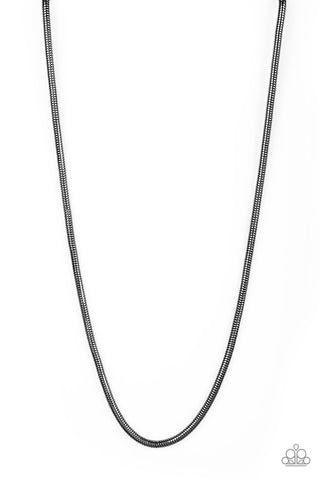 Paparazzi Accessories - Victory Lap - Black Necklace